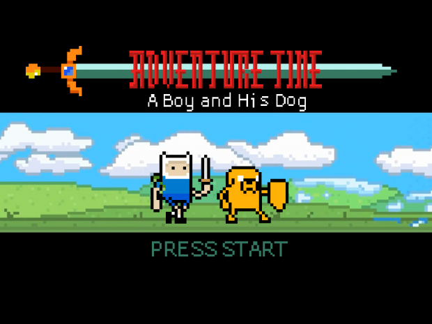 A Boy And His Dog Title Screen
