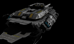 Updated carrier - aft view