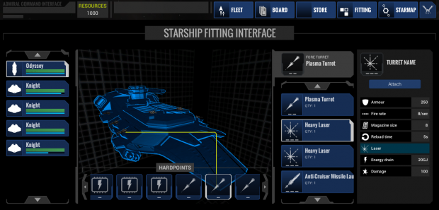 New Fitting Interface
