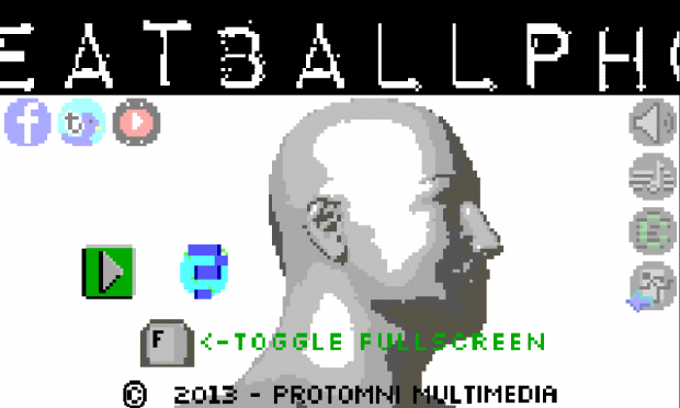 Meatballphobia - Title Screen