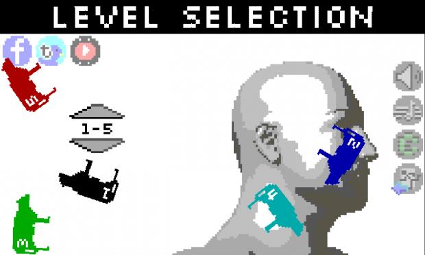 Meatballphobia - Level Selection