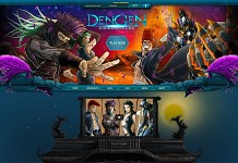 Dengen Chronicles new homepage
