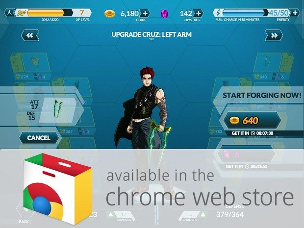 Dengen Chronicles on Chrome Web Store