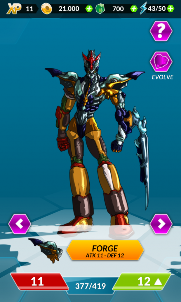 Dengen Chronicles for Android - Character