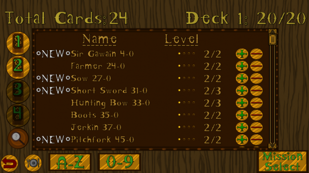 Deck Editor