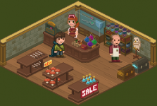 Shop & Shopkeepers