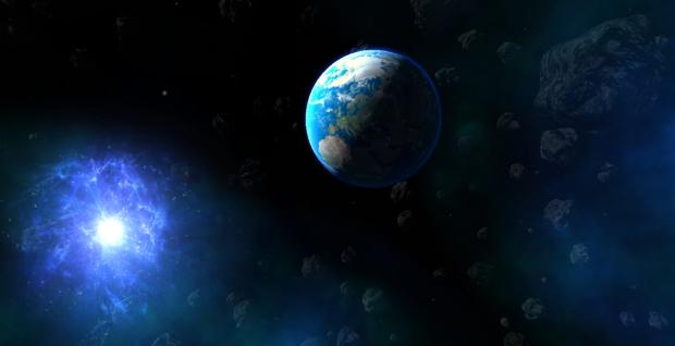 Space dimension interactive cutscene