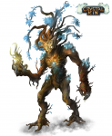 Crystal Tree Boss Concept Art