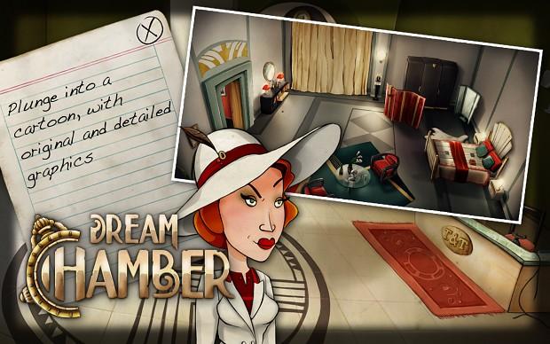 Dream Chamber - Presentation by Screenshots