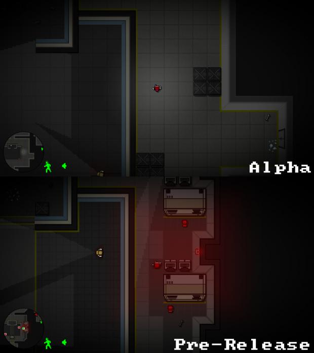 Alpha to Pre-Release Comparison