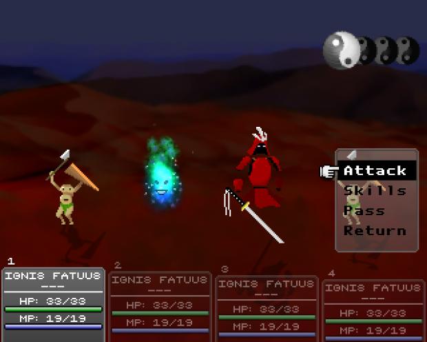 Dynamic shadows during battle.