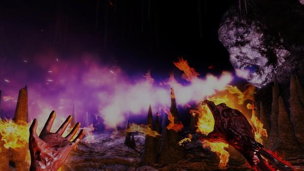 Flamethrower trap