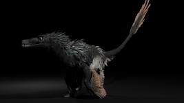 Acheroraptor render