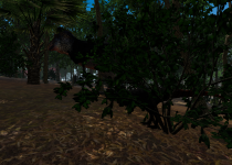 T. rex + Thescelosaurus in-game screenshot
