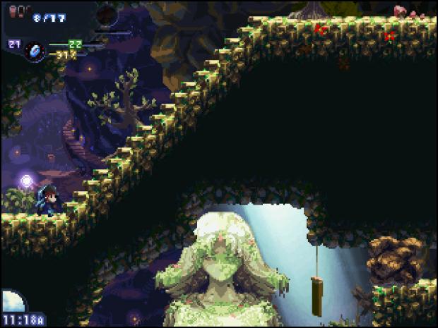 The Ancient Corridor: Näule's lair ahead
