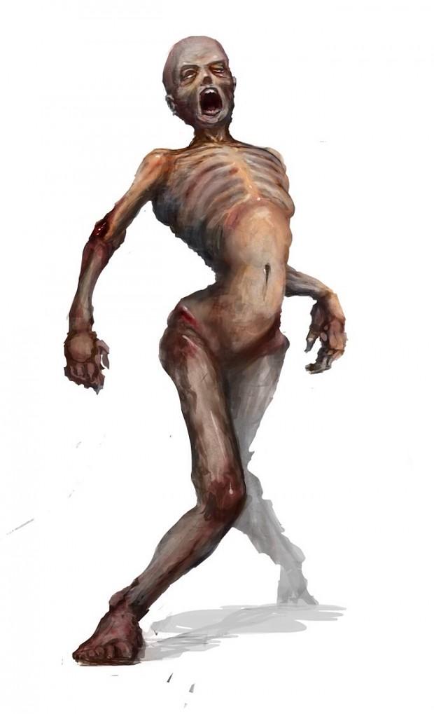 24 Days of Xmas Bonus Day 25 - Naked Zombie