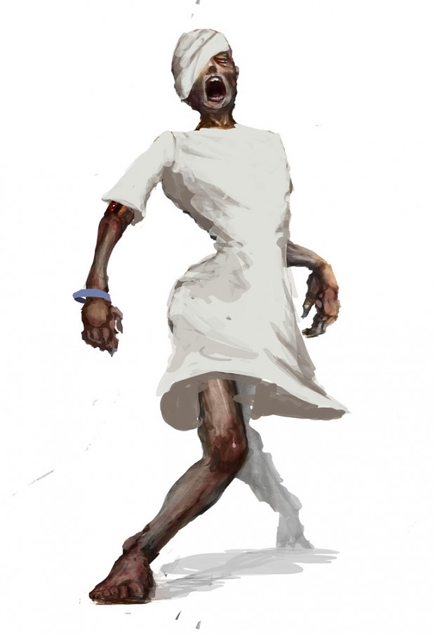 24 Days of Zombie Christmas! Day 5: Zombie Patient