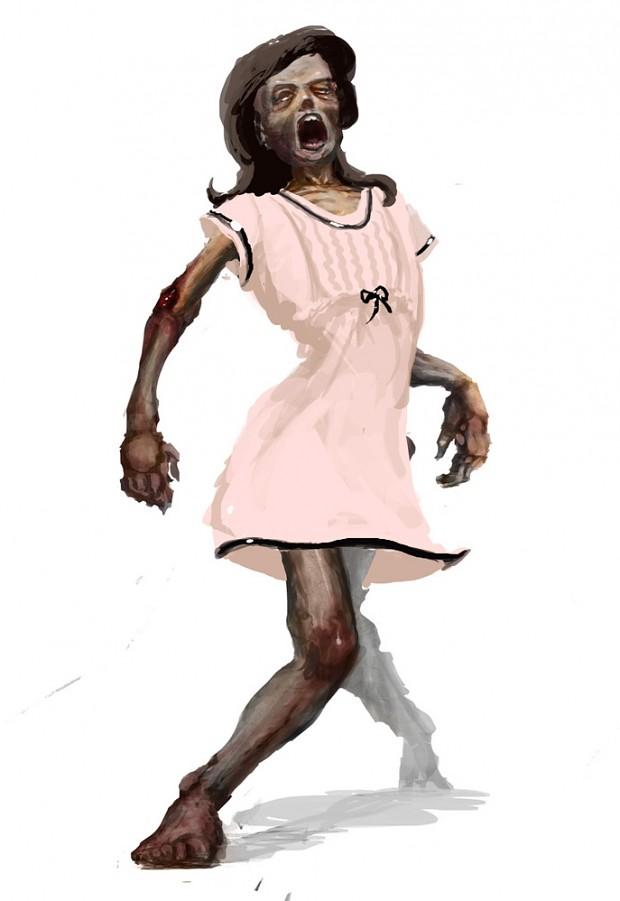 24 Days of Zombie X-mass - Day 16 - Zombie Nightie