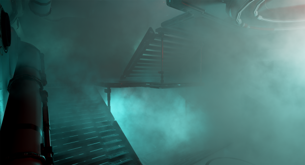 Smoke filling the ship pt II