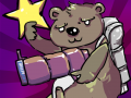 Jiggly Bear in Outer Space
