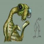 Frik - Pre-Animation Art