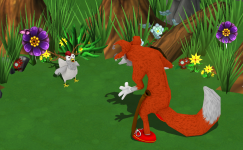 Mendel's Farm - Hungry Fox, Scared Chicken!