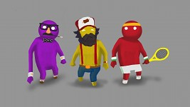 Gang Beasts Customisation Pre-viz