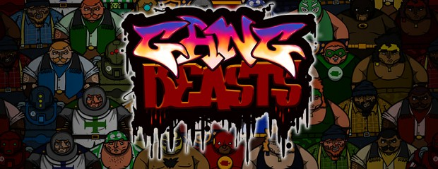 Gang Beasts main page banner graphic
