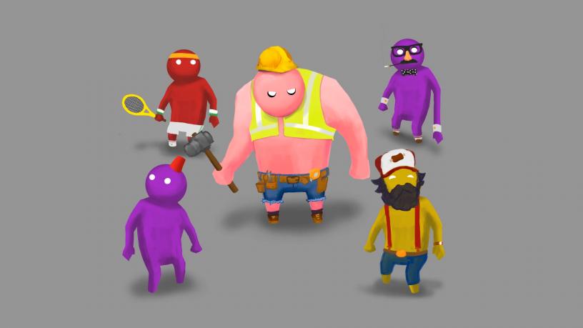 Gang Beasts Customisation Pre-viz #2