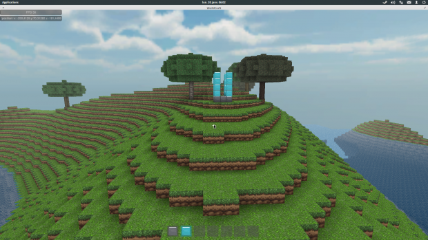 Testing WorldCraft on Linux :D