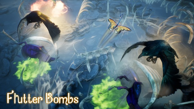 Flutter Bombs - Achievement - Wind Beneath My Wings