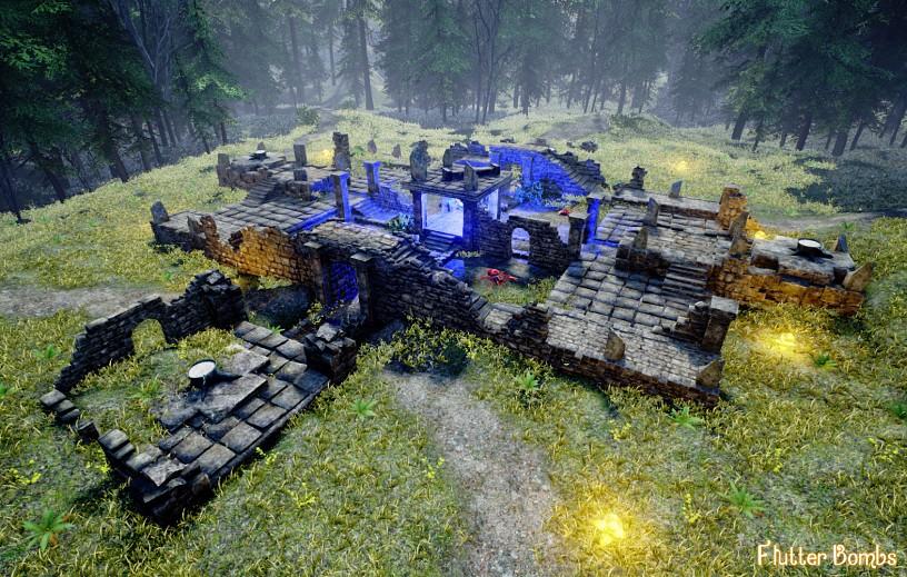 Split screen Multiplayer Map Development