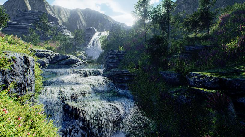 Flutter Bombs :: Waterfalls