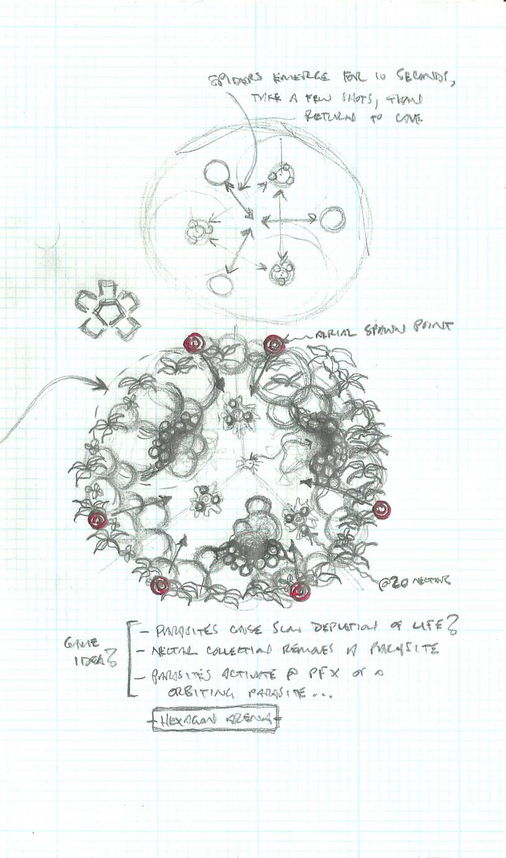 Flutter Bombs - Initial Sketch