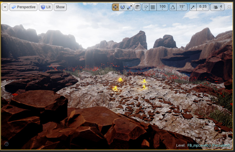 Split Screen Multiplayer Map Development - part 2