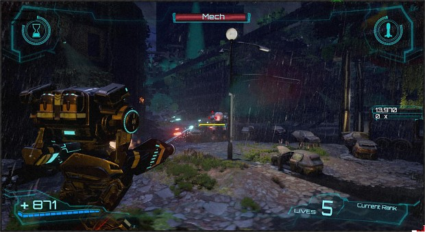 Prototype Mech Beyond Flesh and Blood