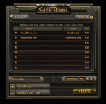 New GUI - Game Rooms