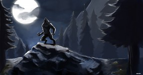 Werewolf Concept Art Completed