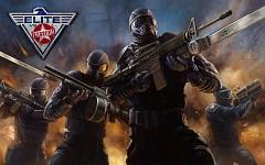 Elite SWAT officers illustration