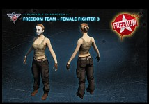 Freedom fighter female 1