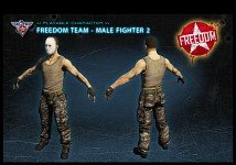 Freedom fighter male 1