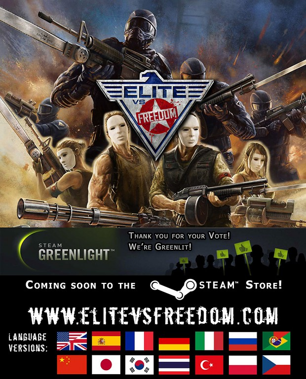 Promotional Image Elite vs. Freedom