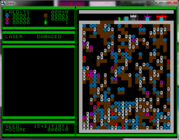 Quarries of Scred - Development progress 008