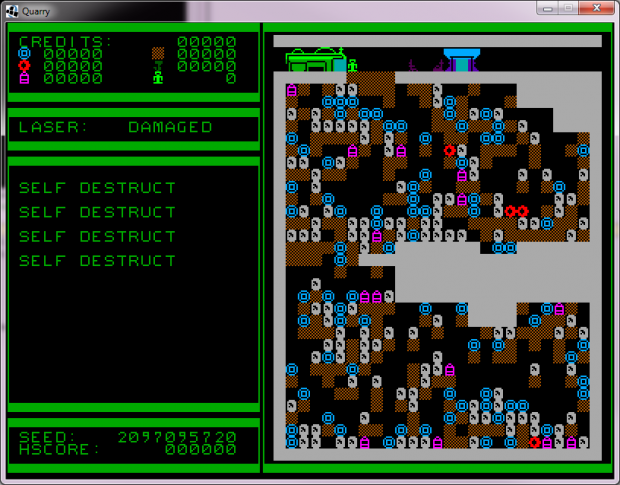 Quarries of Scred - Development progress 010