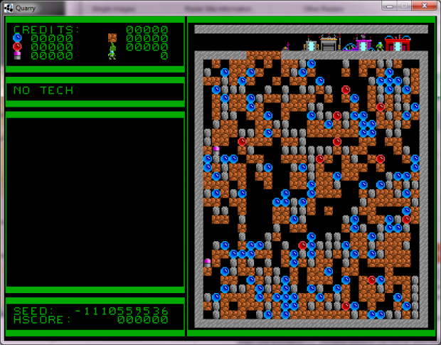 Quarries of Scred - Development progress 019