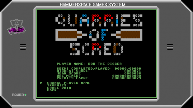 Quarries Of Scred - Update 005 - Stats Screen [C64