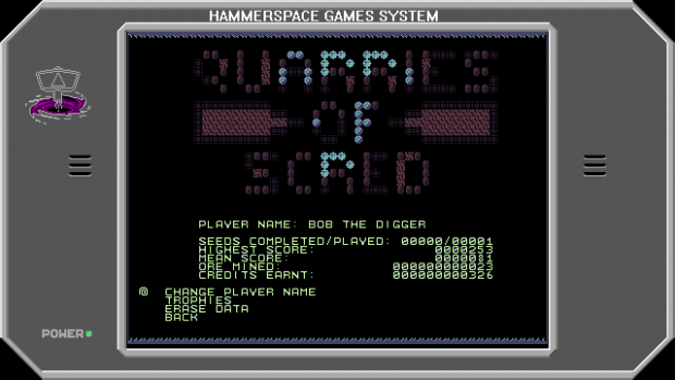 Quarries Of Scred - Update 005 - Stats Screen [Eer