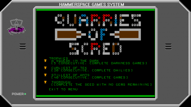 Quarries Of Scred - Update 005 - Trophies Screen