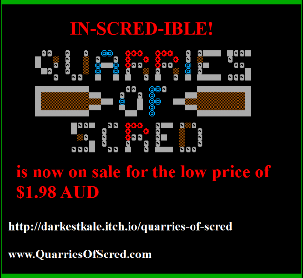 Quarries of Scred - Promo banner