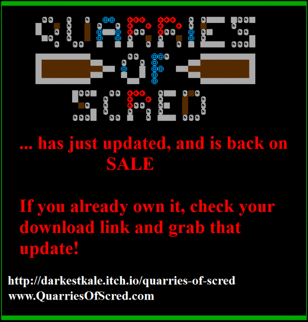 Quarries of Scred - Promo banner 2